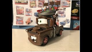 Disney Cars Disney Store Mater with Stadium Hat Review (Mater Monday!)