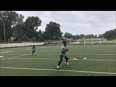 Jerrell Young Route Session thrown by Josh Freeman