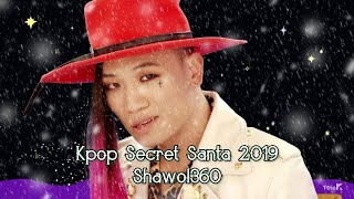 Kpop Secret Santa 2019 | Shawol360 #InternationalUnboxingDay
