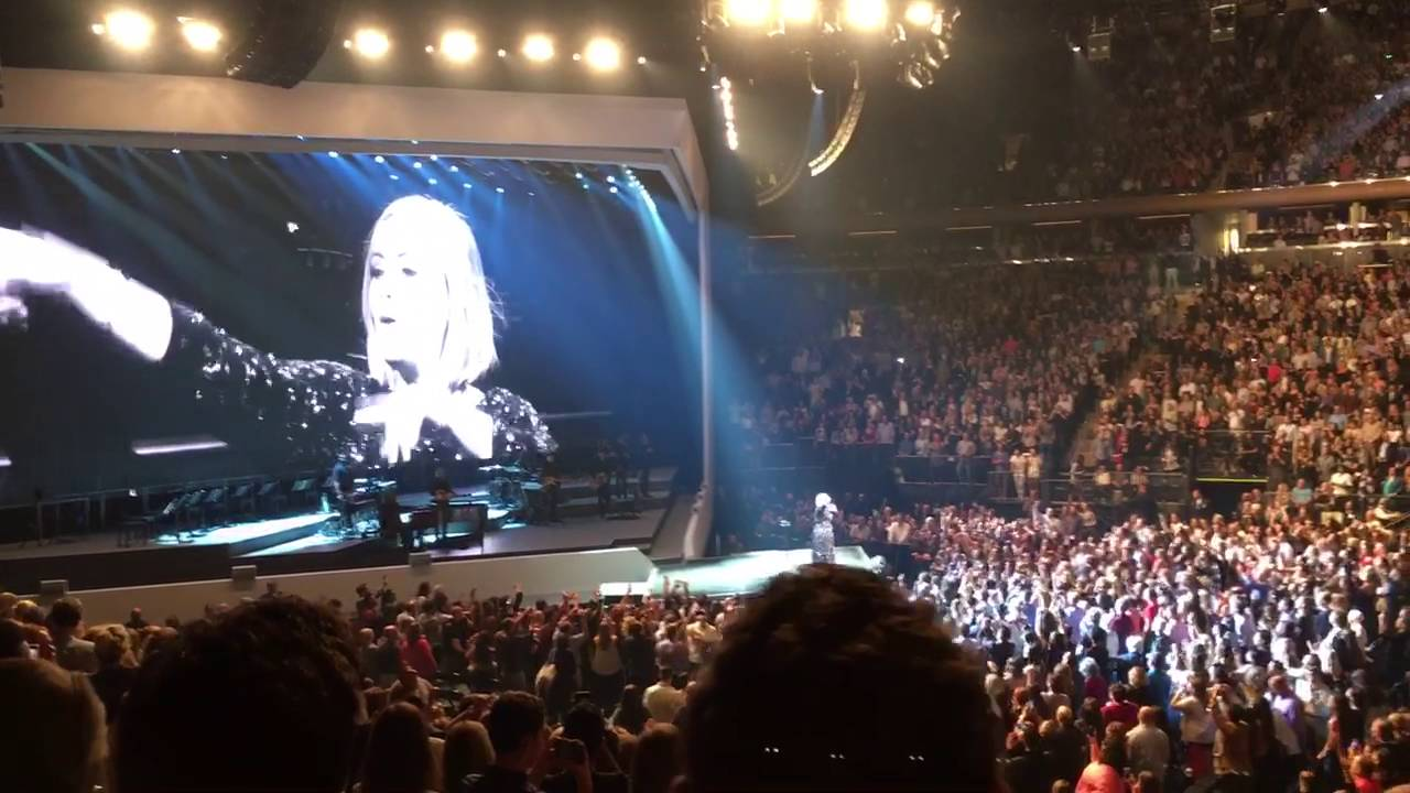 Adele Rolling In The Deep Madison Square Garden September 19 2016 Youtube