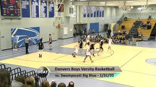 DHS Boys Varsity Basketball vs. Swampscott - 1/31/20
