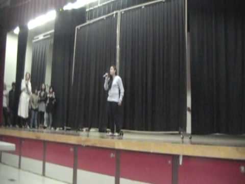 Andrea Ward Golden West Middle School Idol '10 per...