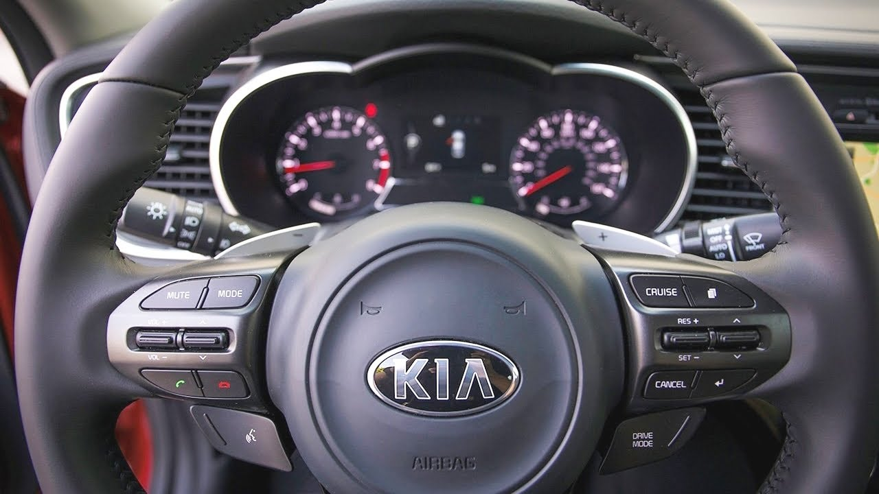 Kia   2015 Kia Optima Interior   YouTube