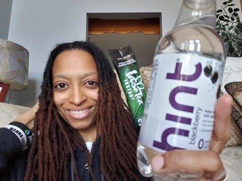 tlc-iaso-instant-detox-tea-&-hint-flavored-water-taste-test
