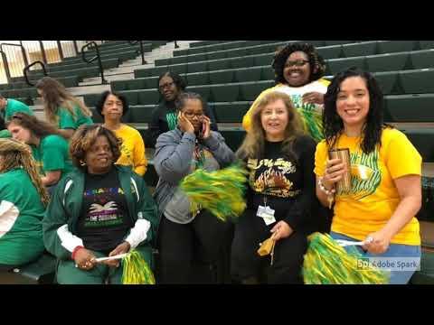 Fox 6 Pep Rally Jackson Olin High School