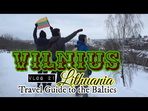 VILNIUS, LITHUANIA | Quick Travel Guide to the Baltics