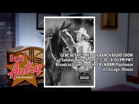 Gene Autry's Melody Ranch Radio Show July 26, 1942 - Full Show