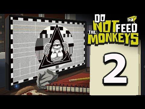 VENADO TRICORNIO, EL CORAZÓN Y LA LOBA  - DO NOT FEED THE MONKEYS #2 | Gameplay Español