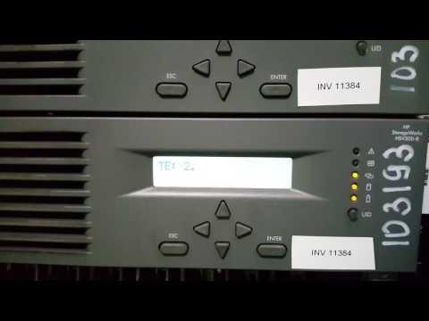 HP EVA 4000 Error