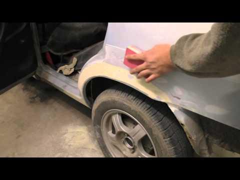 Как покрасить автомобиль своими руками пошаговое руководство видео