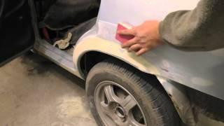 Подготовка к покраске автомобиля своими руками