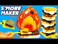 Smores Maker! Chocolate, Marshmallow & Crackers Yummy Nummies + Spiderman & Barbie DisneyCarToys