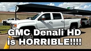 2016/2017 GMC Denali HD..What They're Not Telling You!