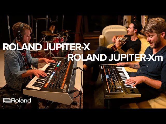 Roland Debuts All-New Jupiter-X Synth Lineup | Synthtopia