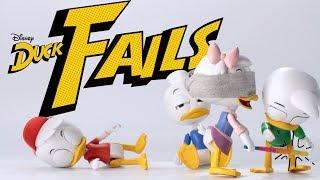 DuckFAILS! Part 3 | DuckTales | Disney Channel