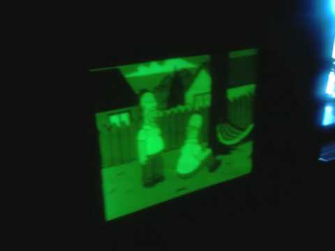 Laser TV Beamer - YouTube