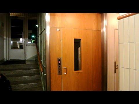1955 KONE traction elevator (mb Hissi-Ala 1991) @ Kauppiaskatu 10D, Turku, Finland