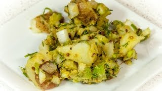 Potato Salad With Avocado Dill Dressing (vegan & Low Salt!)
