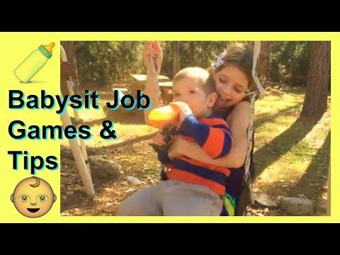 Babysitting Job Games and Tips for Babysitting