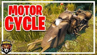 Trying out the NEW MOTORCYCLE in 7 Days to Die Alpha 17 Multiplayer Gameplay Part 33