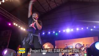 monica @ mtn project fame all star concert 2014
