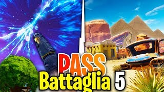 THE CRACK OF THE ROCKET UP CLOSE! INDIZI PASS BATTLE 5 - Fortnite Battle Royale ITA