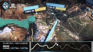 Parcours 3D - 80Kms - Chamonix Marathon du Mont-Blanc 2015