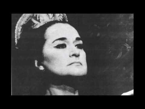 Leyla Gencer - La Luce Langue (Macbeth) 1969 - Verdi