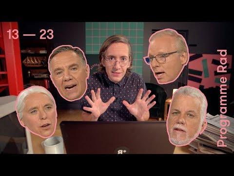 Édition spéciale : débat des chefs | Programme Rad | Élections Québec | 13 — 23