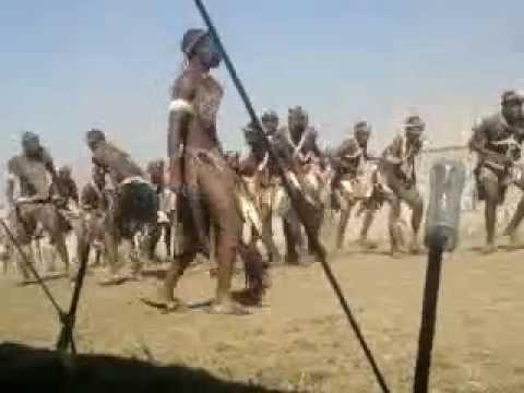 S'gweje Ladysmith (KwaZulu Natal) Zulu dance.