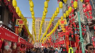 GLOBALink | Decorations promote local tourism in Lanzhou, NW China