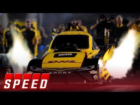 J.R. Todd wins the 2018 Funny Car championship   2018 NHRA DRAG RACING
