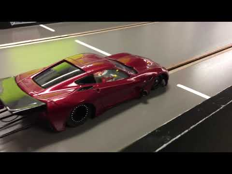 Ohio vs Michigan boyz slot car drag racing part 2!