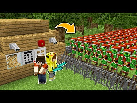 ISMETRG'NİN EN GÜVENLİ EVİ VS GRİNÇ KIYAMETİ! 😱 - Minecraft