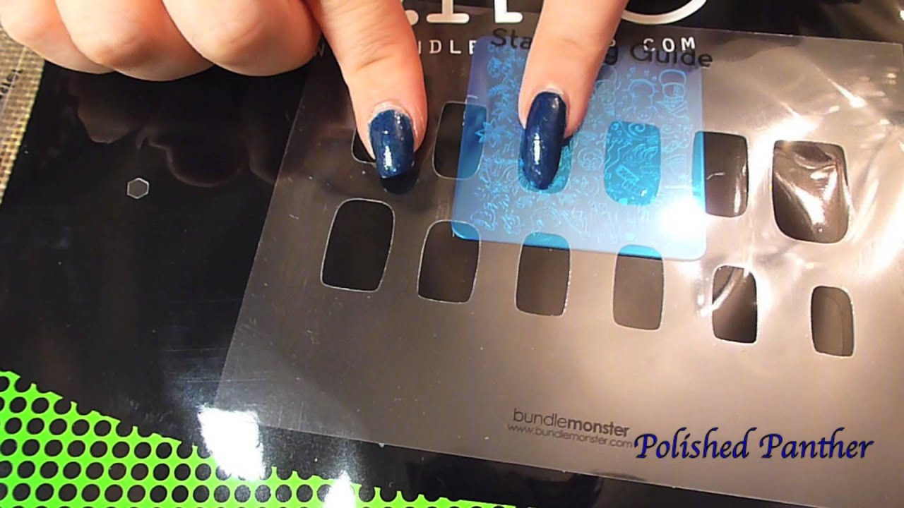 Bundle Monster Unboxing First Impressions Metal Nail Stamping Decal ...