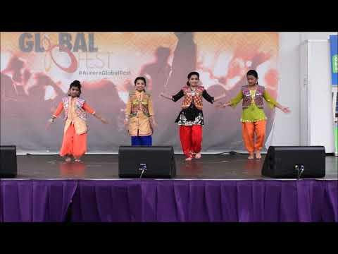 Kids Dance Performance | Hule Hulare | Punjabi Folk | Rhythm - Priyanka Bhattacharya & Group