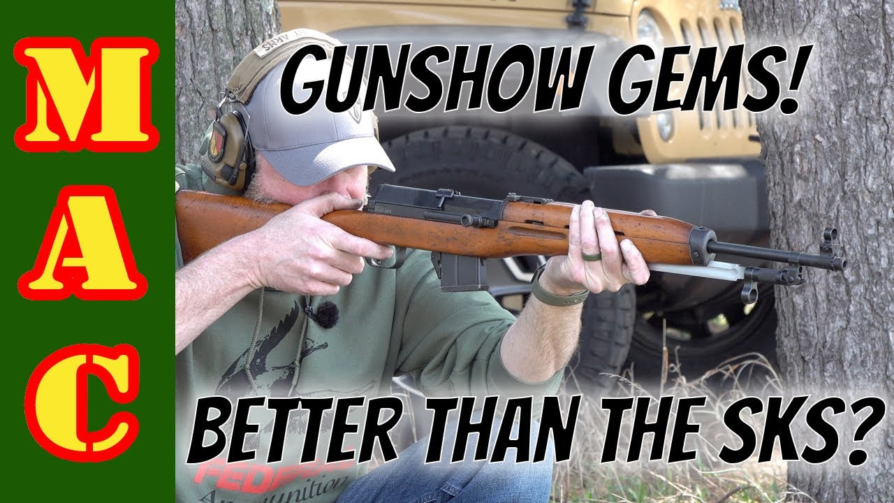 Gun Show Gems! They're not your run of the mill SKS, they're even better!