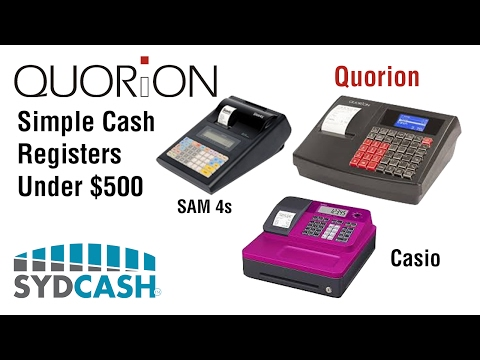Simple Cash Registers