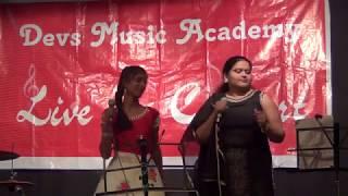 Dilbar Live Performance by Savitra &  Shweta Devs Music Academy