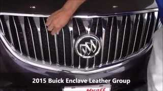 Hyatt Buick GMC | 2015 Buick Enclave Leather Group