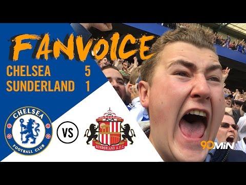 Chelsea Premier League Champions 2016/17 | Chelsea 5-1 Sunderland | 90min FanVoice