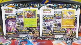 Opening BOTH Lost Thunder 3 Pack Blisters of Pokemon Cards!