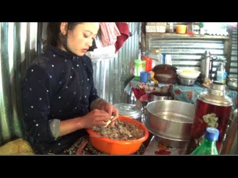 Himalayan Street Foods  Authentic Homemade Momo  Local Ladies Part 2  Nimachen, Sikkim, India