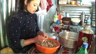 Himalayan Street Foods | Authentic Homemade Momo By Local Ladies (Part 2) | Nimachen, Sikkim, India