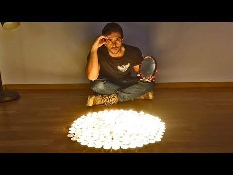 JUGANDO A HYAKUMONOGATARI EN DIRECTO (EL JUEGO DE LAS 100 VELAS) | Ritual Japonés