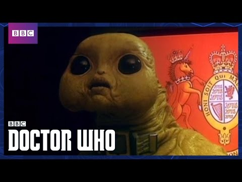 The Slitheen Unmasked - Aliens Of London - Doctor Who - BBC