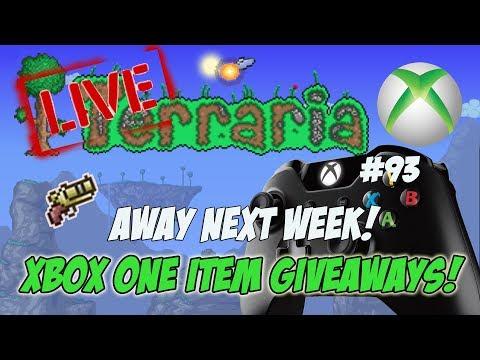 Terraria Xbox One Item Dropoff Giveaways - Away Next Week #93