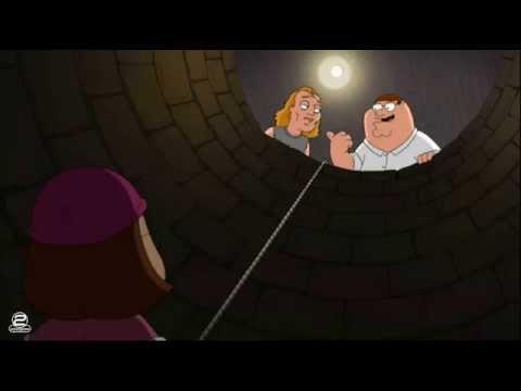 Family Guy's - It Puts the Meg in the Basket Scene