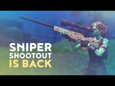 SNIPER SHOOTOUT IS BACK! (Fortnite Battle Royale)
