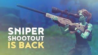 SNIPER SHOOTOUT IS BACK! (Fortnite Battle Royale)